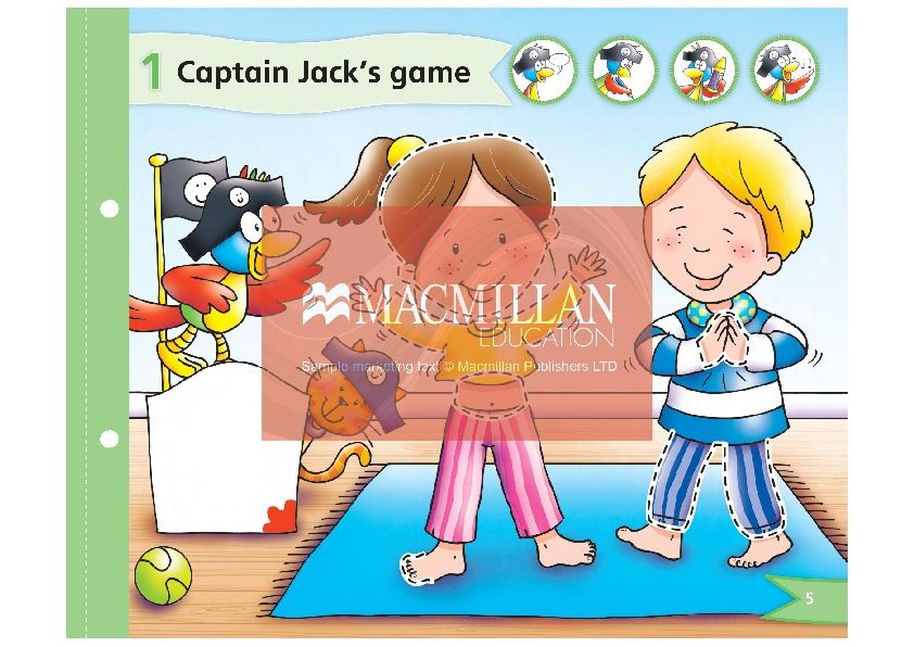 Изображение Captain Jack 1 Plus Pupil's Book + Multi-ROM страница 1